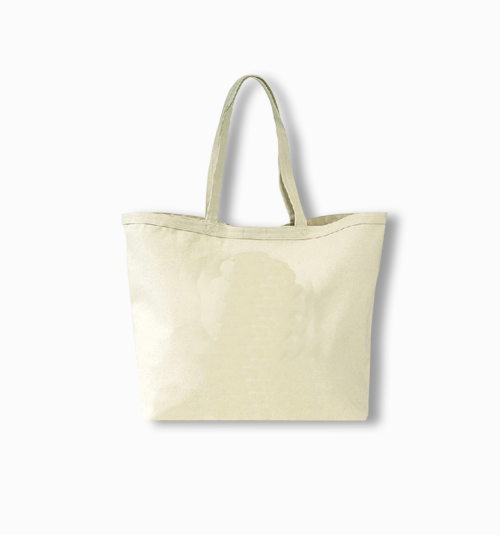 Custom Big Canvas Tote Bag