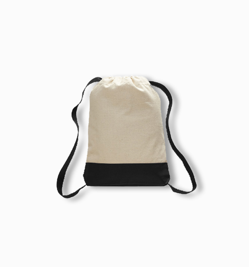 Custom Canvas Two-Tone Sport Backpack