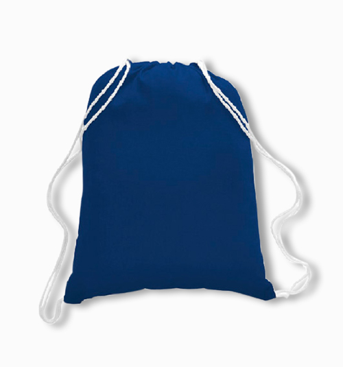 Custom Cotton Drawstring Backpacks